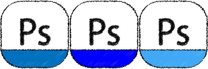 adobe photoshop Sketch icon by THE-GREMLIN