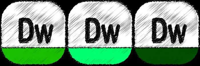 adobe dream weaver Sketch icon by THE-GREMLIN