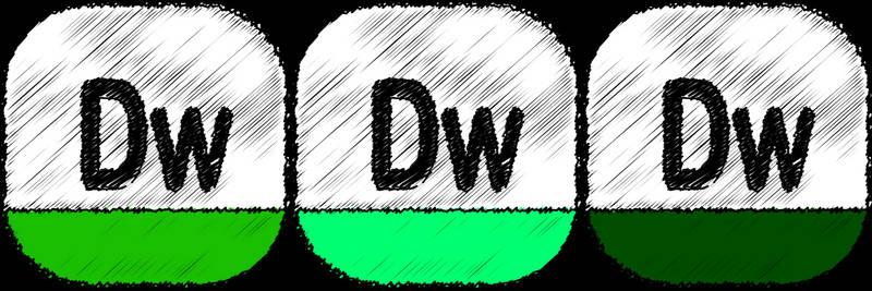 adobe dream weaver Sketch icon