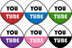 Youtube icon set by THE-GREMLIN