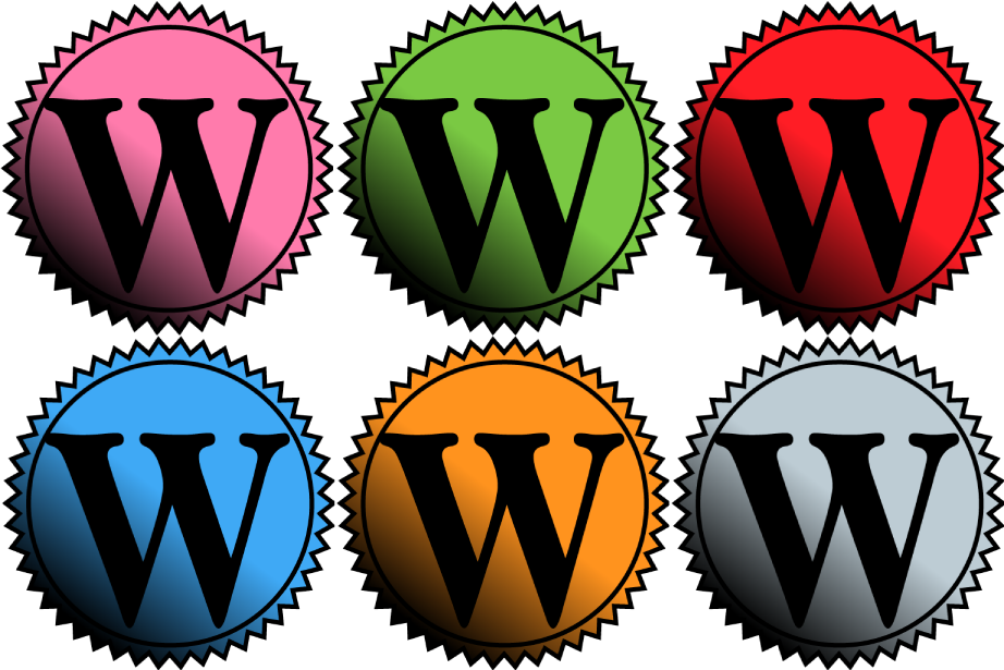 wordpress badge icon by THE-GREMLIN