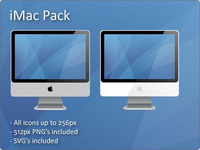 iMac Pack 1.0 SVG by docmiller