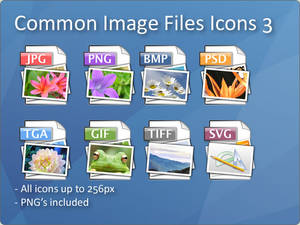Common Image File Icons 3