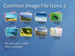 Common Image File Icons 2