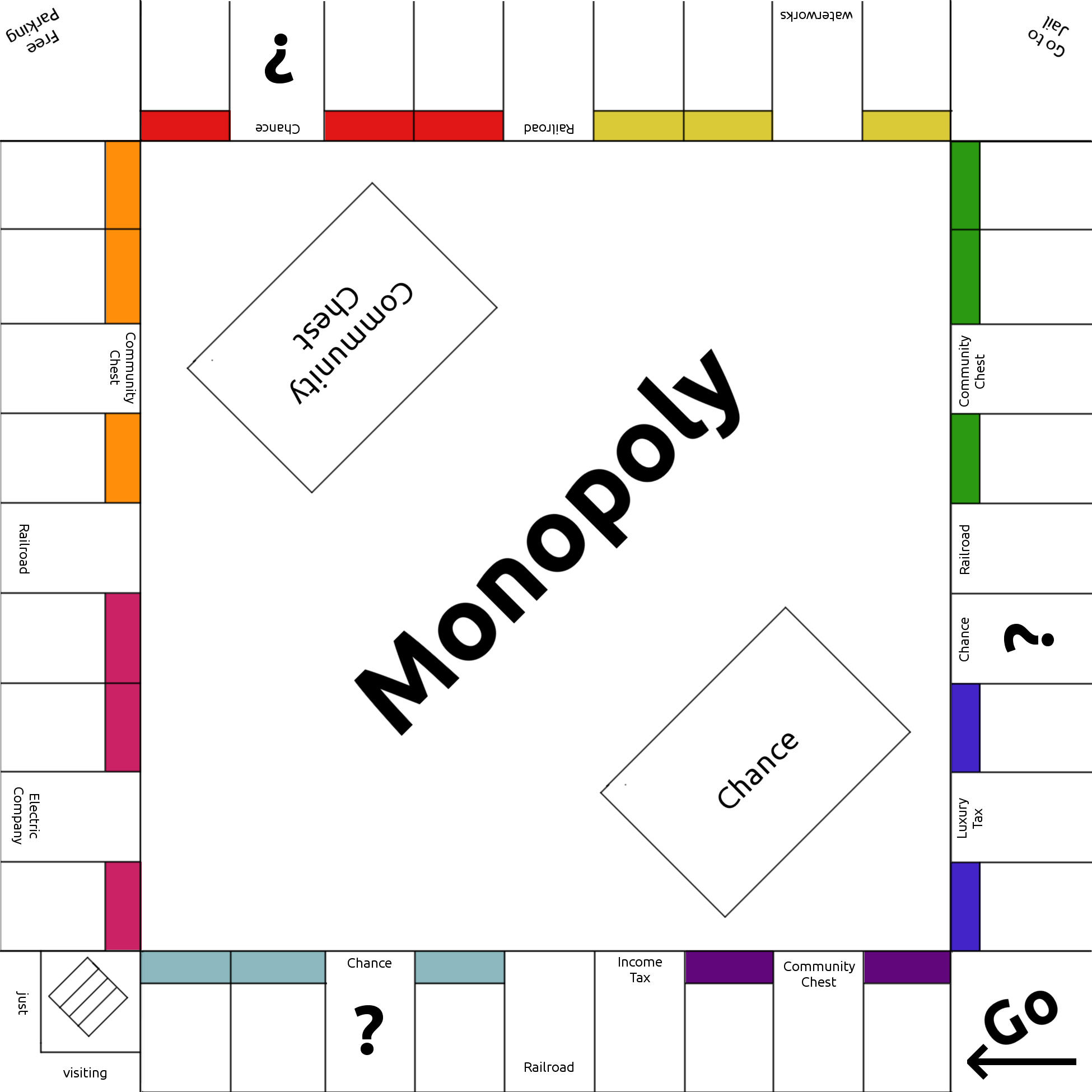 monopoly template by lunarcloud on deviantart With custom monopoly board template