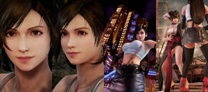 (RELEASE-UPDATE) TK7 - TIFA FF7RE FACE FOR ASUKA