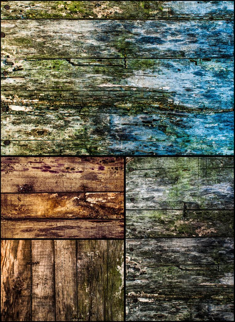 Rotten Wood Planks by ElNaso