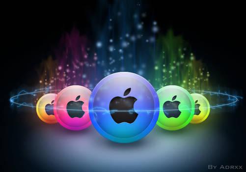 Ethereal Apple Spheres