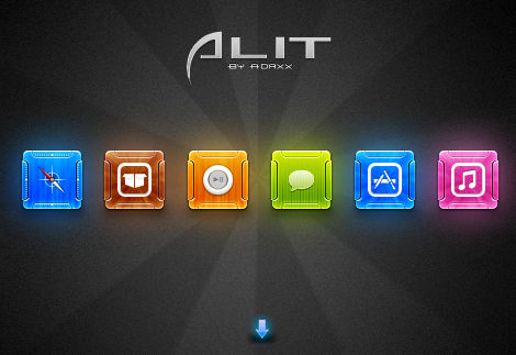Alit iPhone Theme