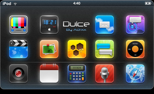 'Dulce' iPhone Theme