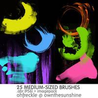 mixed brushes by Sanami276
