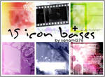 Icon bases Set 1