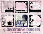 Decorative borders PSP9