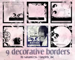 Decorative borders PSP9