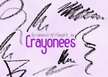 Crayon doodles PS7