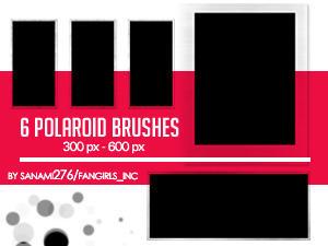 Big polaroid brushes PS7