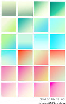 27 colorful gradients