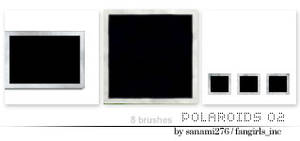 Polaroid brushes 02 PS7 by Sanami276