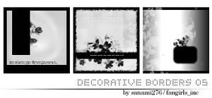 Decorative borders 05