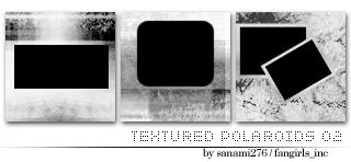 Textured polaroids 02 by Sanami276