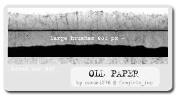 Old paper brushes by Sanami276
