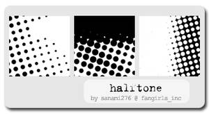 Halftone brushes, PS6