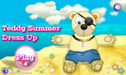 Teddy Sumer Dress-Up (Flash game)