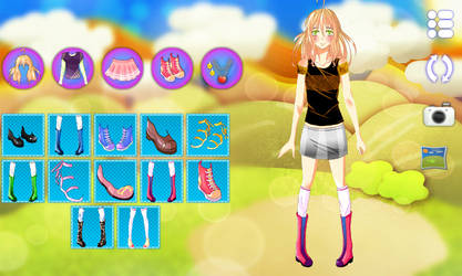 Jennifer Dress Up Android Template