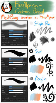 Custom Brush - Medibang Brushes for FireAlpaca!