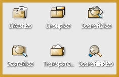 Transparent Icons by gillon