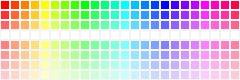 Krita GIMP Inkscape 24 hues {168+1 colours}