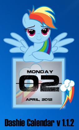 Rainbow Dash Calendar V1.1.2 by SNX11