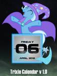 Trixie Calendar V1.0