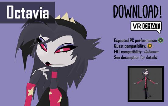 Octavia - 3D model for VRChat [dl]