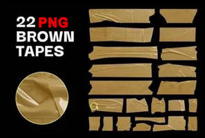 22 Brown Tapes PNG