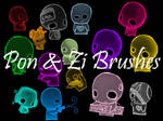 My Brushes 2: Pon and Zi