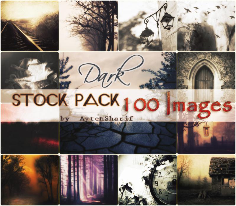 Dark - Stocks Pack #1 by AytenSharif11