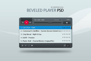 Beveled Player PSD v1 by eXentrich