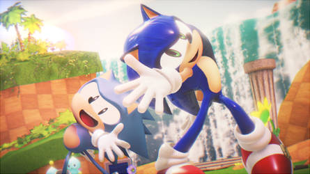 MMD Sonic Deep Blue Song dance by 495557939