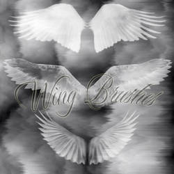 Wings - Photoshop Brushes