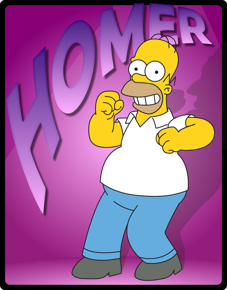 Dancing Homer by Ryan-Warner