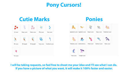 Pony Cursors