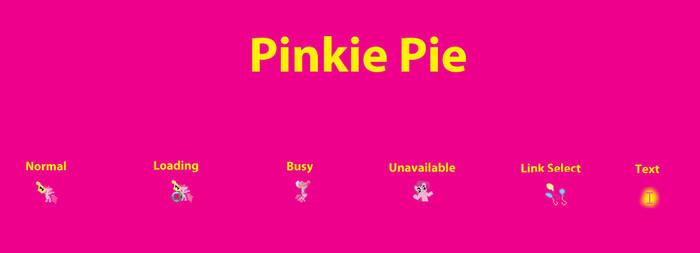 Pinkie Pie Cursor Set by RDA5H