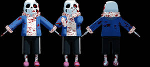 MMD HorrorTale Sans (DL)