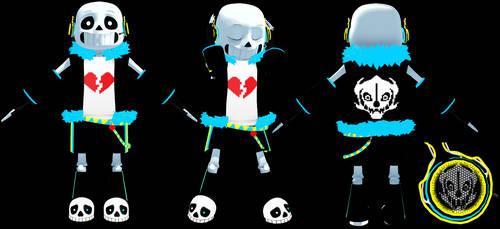 MMD Vocaloid Sans Model (DL)