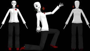 MMD DanceTale Papyrus (DL) by KittyNekkyo