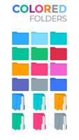 Colored Folders by KDr3w
