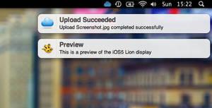 iOS5 Lion Growl by SkyJohn