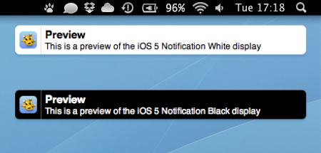iOS 5 Notification Growl by SkyJohn