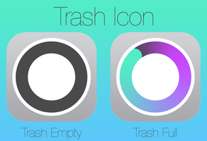 iOS 7 style Trash Icon by SkyJohn